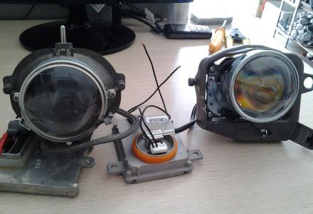 本店专业改装双光透镜,日行灯,氙气灯以及雾灯双光透镜