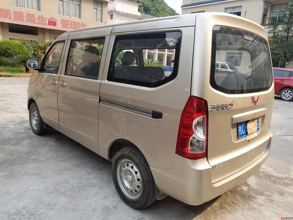 五菱荣光s刚两年一手好车转让 - 桂林客货车信息 客图片