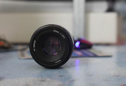 8成新尼康大光圈50 1.8D镜头只要499啦