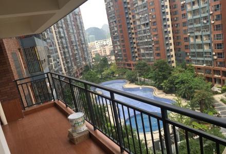 临桂步行街旁香樟林 全新新装14栋4房2厅2卫1大阳台1入户2500/月