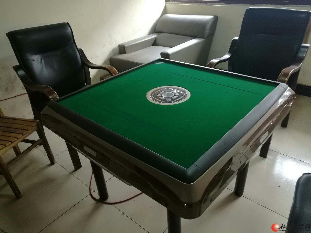 桂林市出售8成新四口二手麻将机500元起