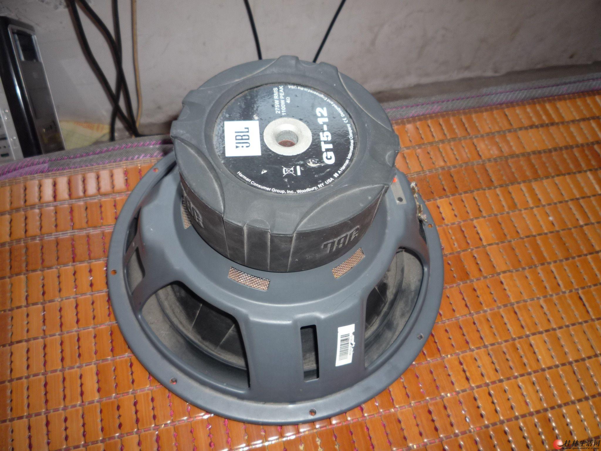 美国JBL GT5-12 超低音汽车喇叭