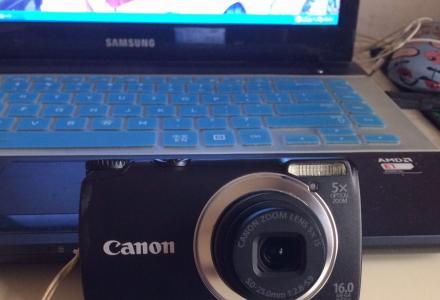 二手相机 佳能 1600w 5倍变焦 原装锂电池