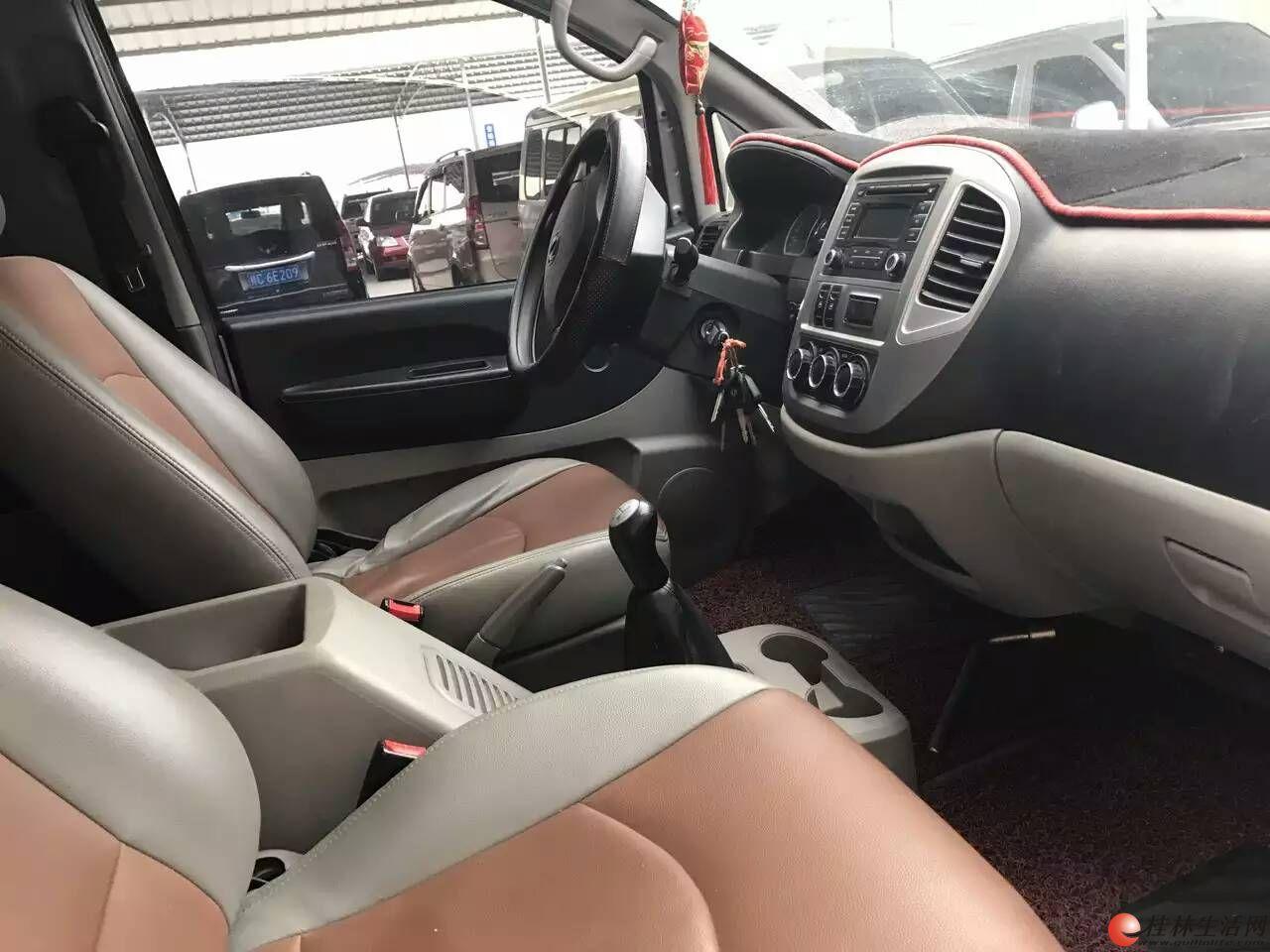 风行菱智M5舒适版9座国四,2.0汽油版,车才一年高清图片