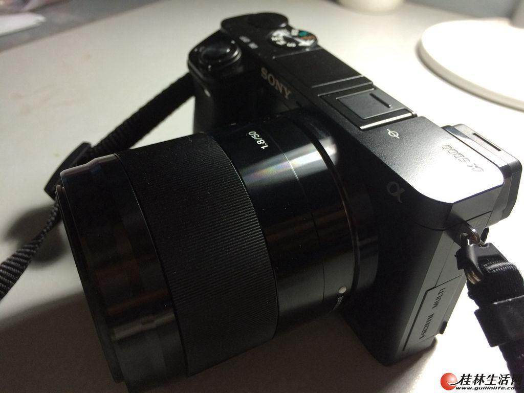出售98新索尼A6000及E50/1.8镜头