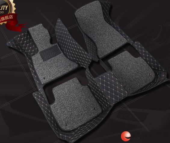 2017百万款 帝豪1.5L自动挡 全包围脚垫  后备箱垫