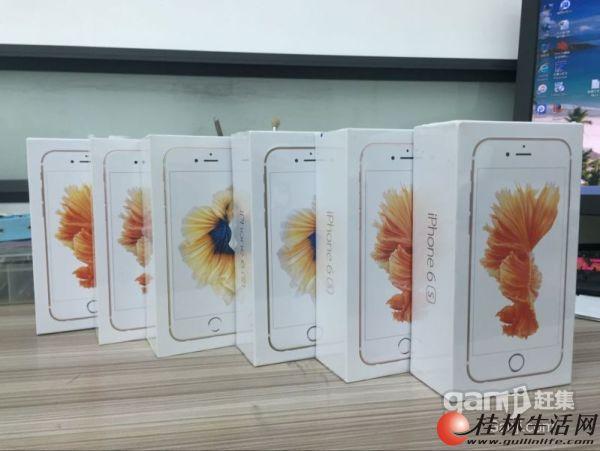 喜讯!特惠苹果6S,美版,64G金,玫瑰金,特惠3299元,可以分期哦