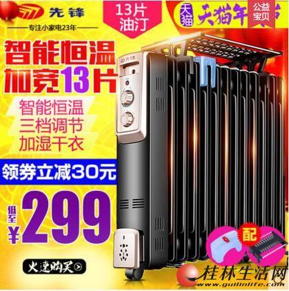 (全新)先锋DYT-Z2油汀取暖器13片恒温电暖气片