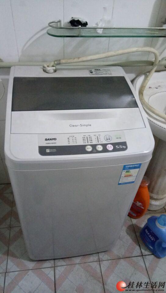 三洋5.5kg全自动洗衣机500元