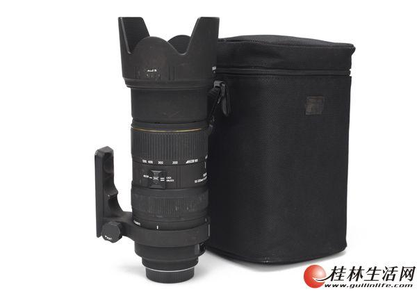 尼康口适马50-500mm f4-6.3经典打鸟镜头 闲置出售