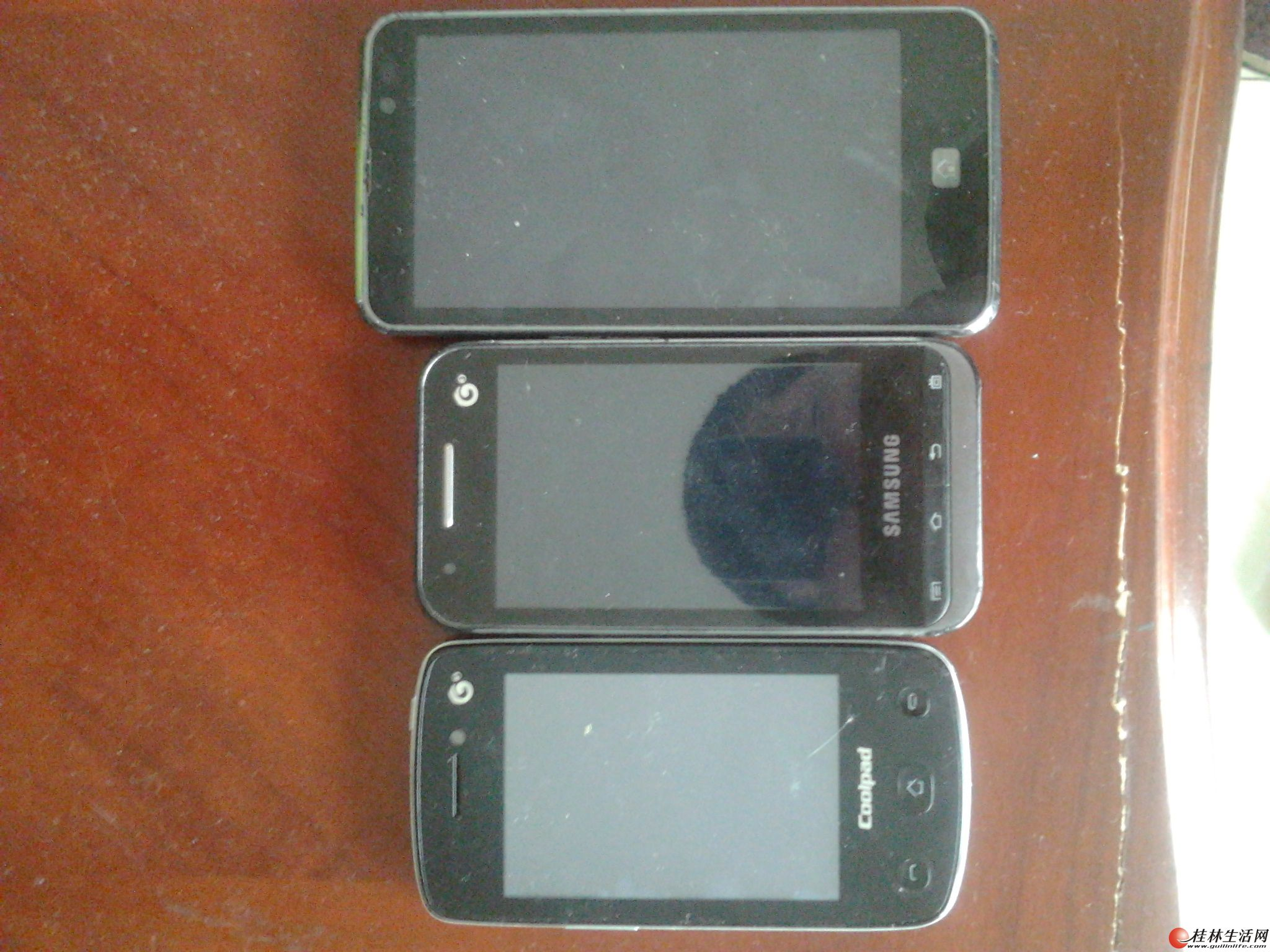 打包出售3个智能手机