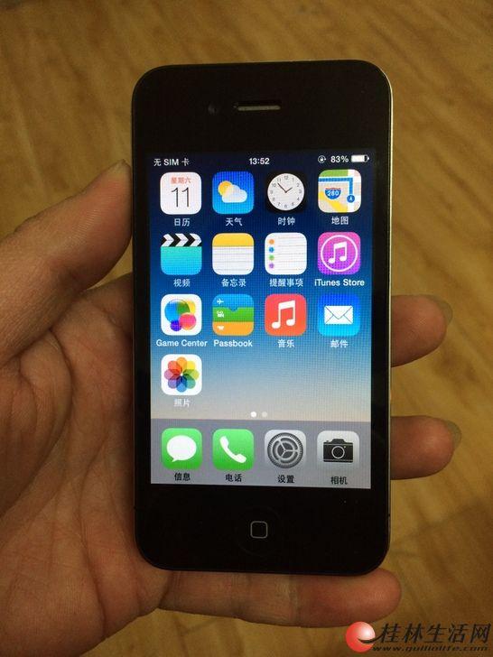 苹果4 16G内存 无锁无ID 备用不错!