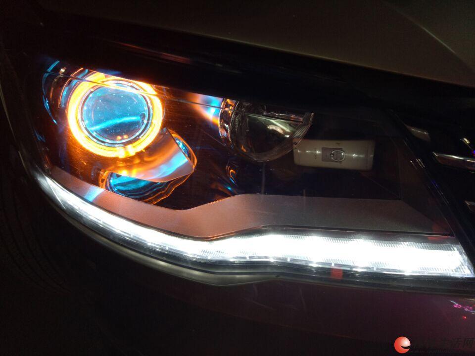 汽车大灯升级,翻新,改装