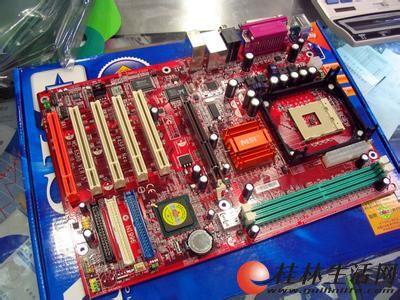 微星主板一块 型号 msi/845pe neo 配送cpu 内存 显卡!