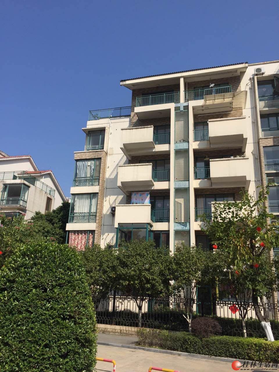 桂林奥林匹克花园 5室2厅2卫 大户型复式结构 带30平私人空中花园 直降7万,现价75万
