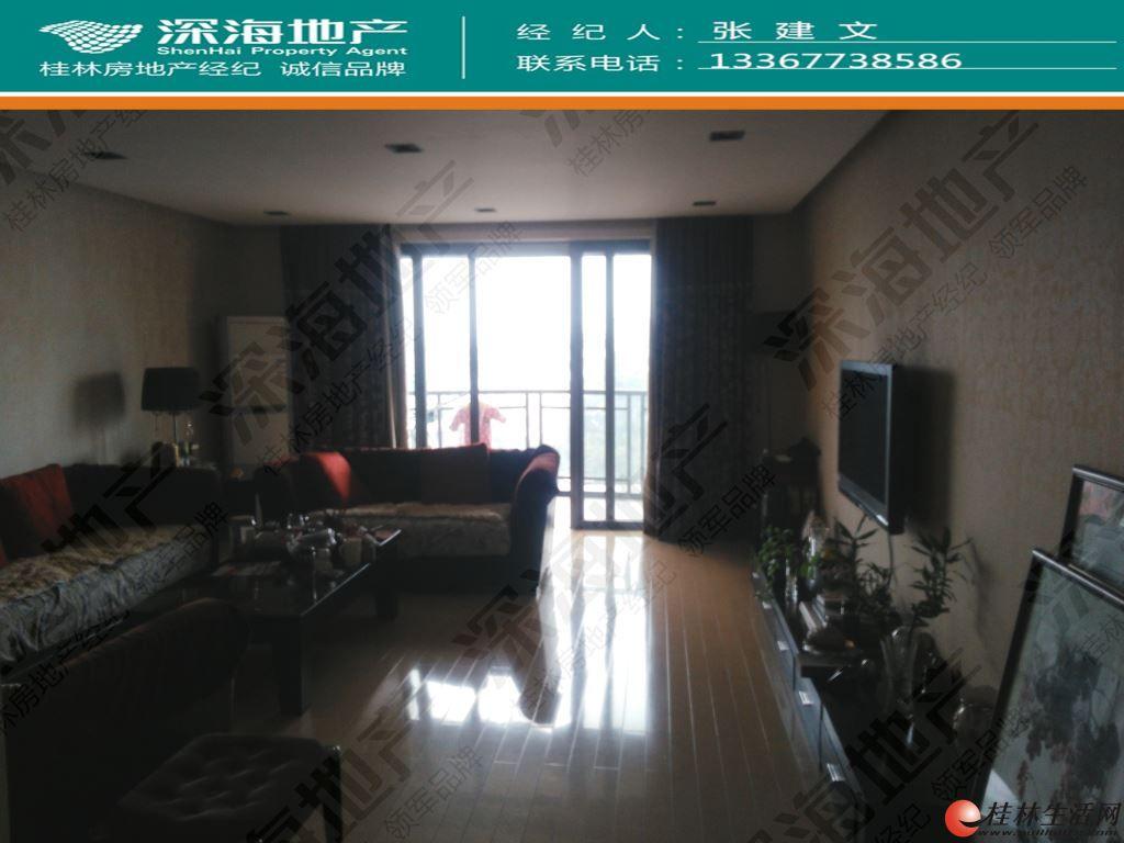 z桃花江旁【康桥半岛】4房2厅2卫江景171㎡+露台精装265万
