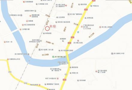 灵川商贸城大圆盘家惠超市旁临街房屋出租