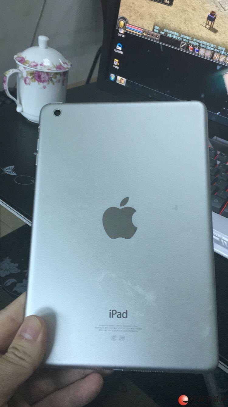 苹果iPad mini行货16G银白色  750元