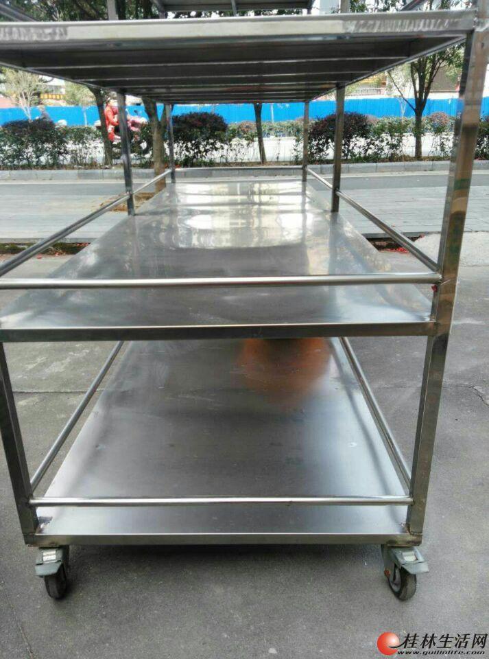 全纯5层不锈钢货架低价出售