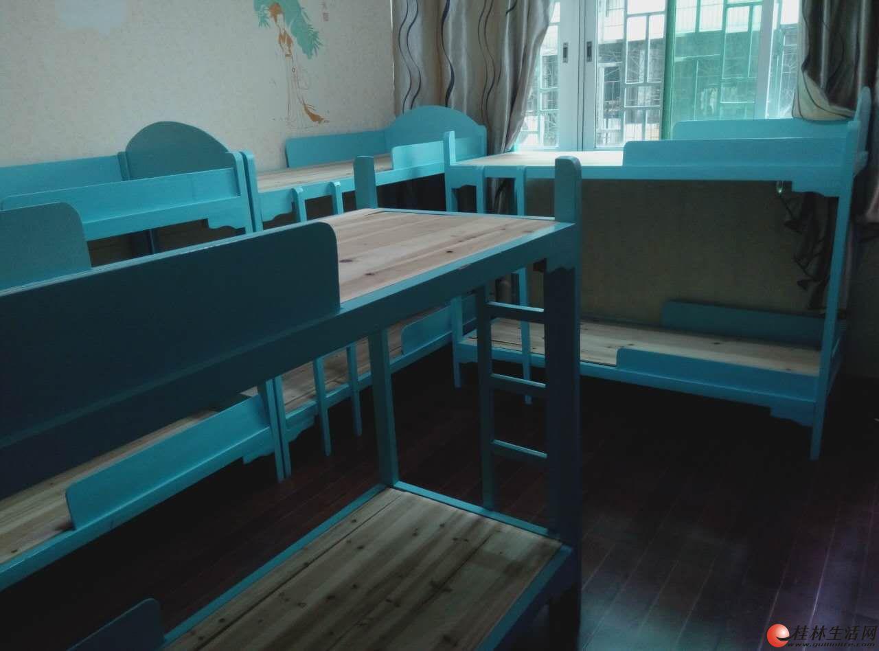 实木架子床  规格70*170