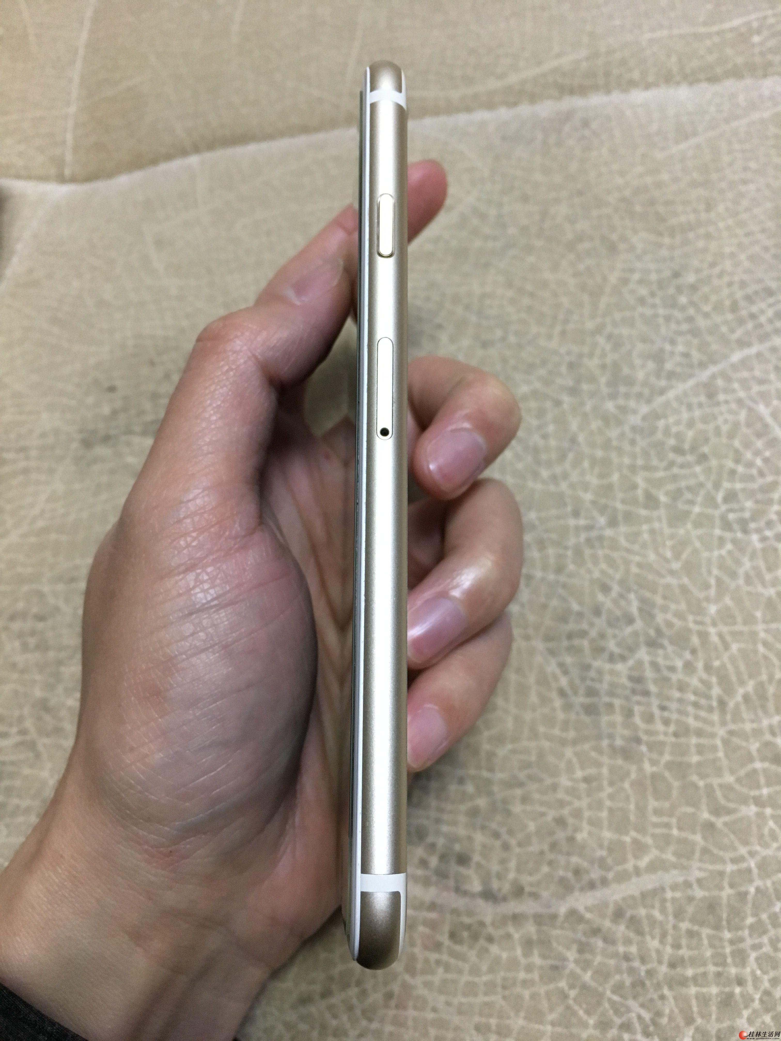 iPhone6美版全网通64g金色,功能正常,指纹正常,无id。