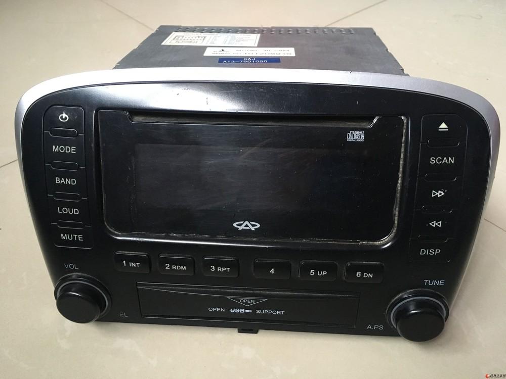 奇瑞10款风云2原装CD主机80元