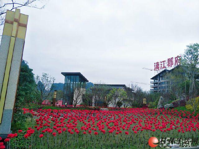 C【漓江郡府】漓江边的豪宅2房2厅1卫户型南北通透70万