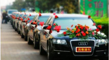 桂林鸿尊婚车租赁你的婚车 首 选,提前预定8.8折