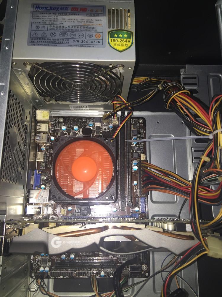 【翔宇电脑】I3 3220,微星B75M主板,影驰GTX660黑将 2GD5豪华大卡