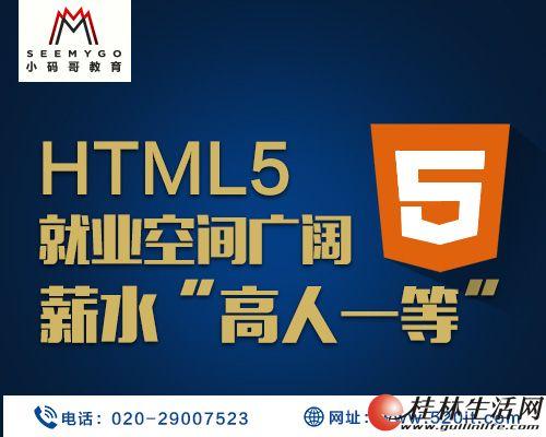 小码哥html5培训浅谈初学者该如何学好HTML5