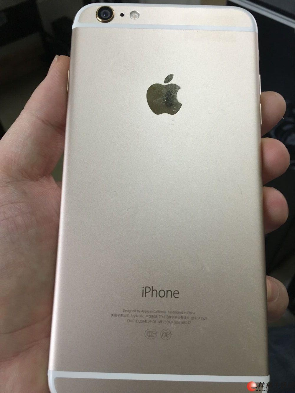 苹果6 Plus美版16G金色  1980元
