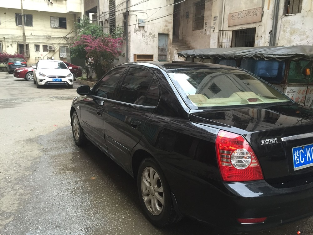 刚检车买了保险北京现代伊兰特1.6舒适型售出18277318689找好车自用