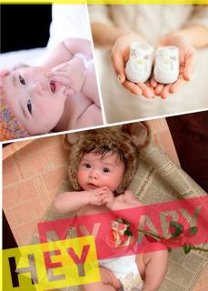 新生儿宝宝童满月百日入户上门室内摄影写真照相
