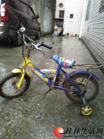 儿童自行车10元转让