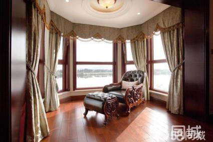 桂林酒店布料窗帘定制安装