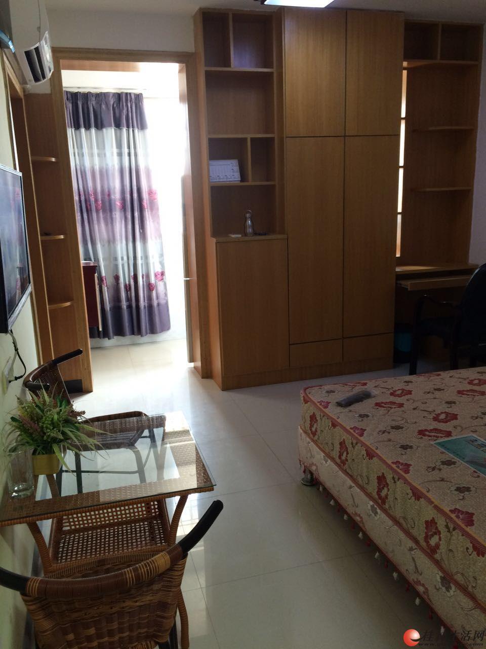 (非中介)【单身公寓】帝苑酒店旁、漓江边、全新豪装、品牌家电全新、未入住过出租