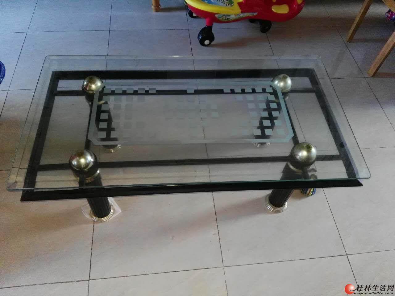 家用玻璃桌,低价处理