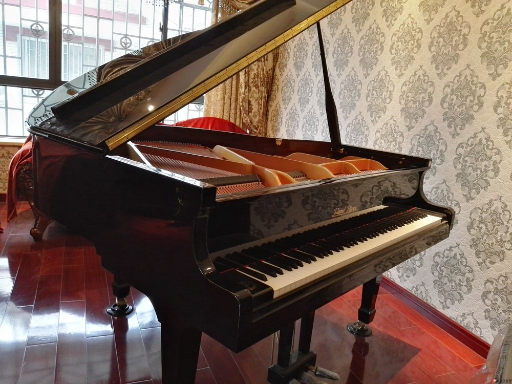 珠江P8三角钢琴五折转让