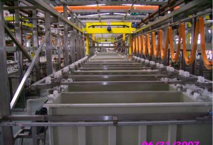 工业型电镀设备生产系统