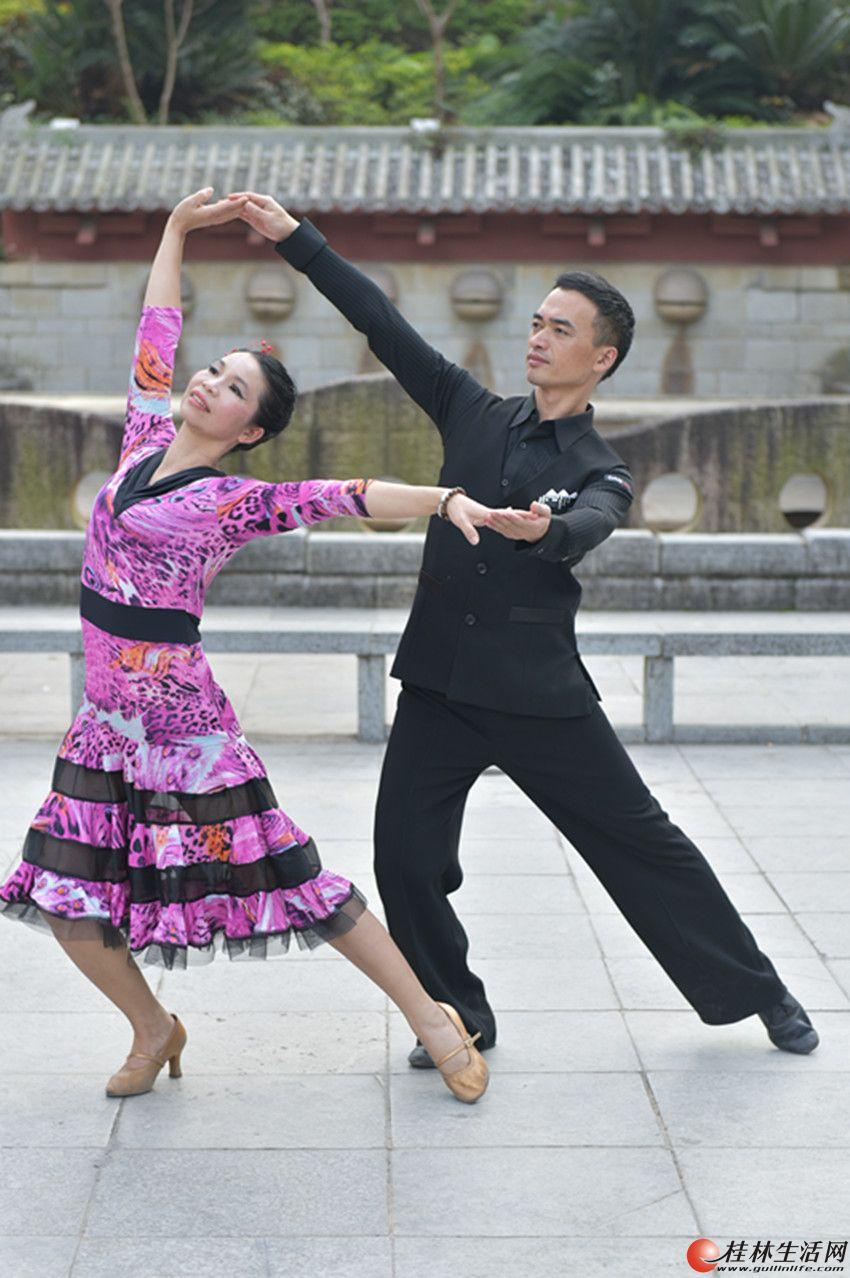桂林拉丁舞、交谊舞、国标舞一对一包学会