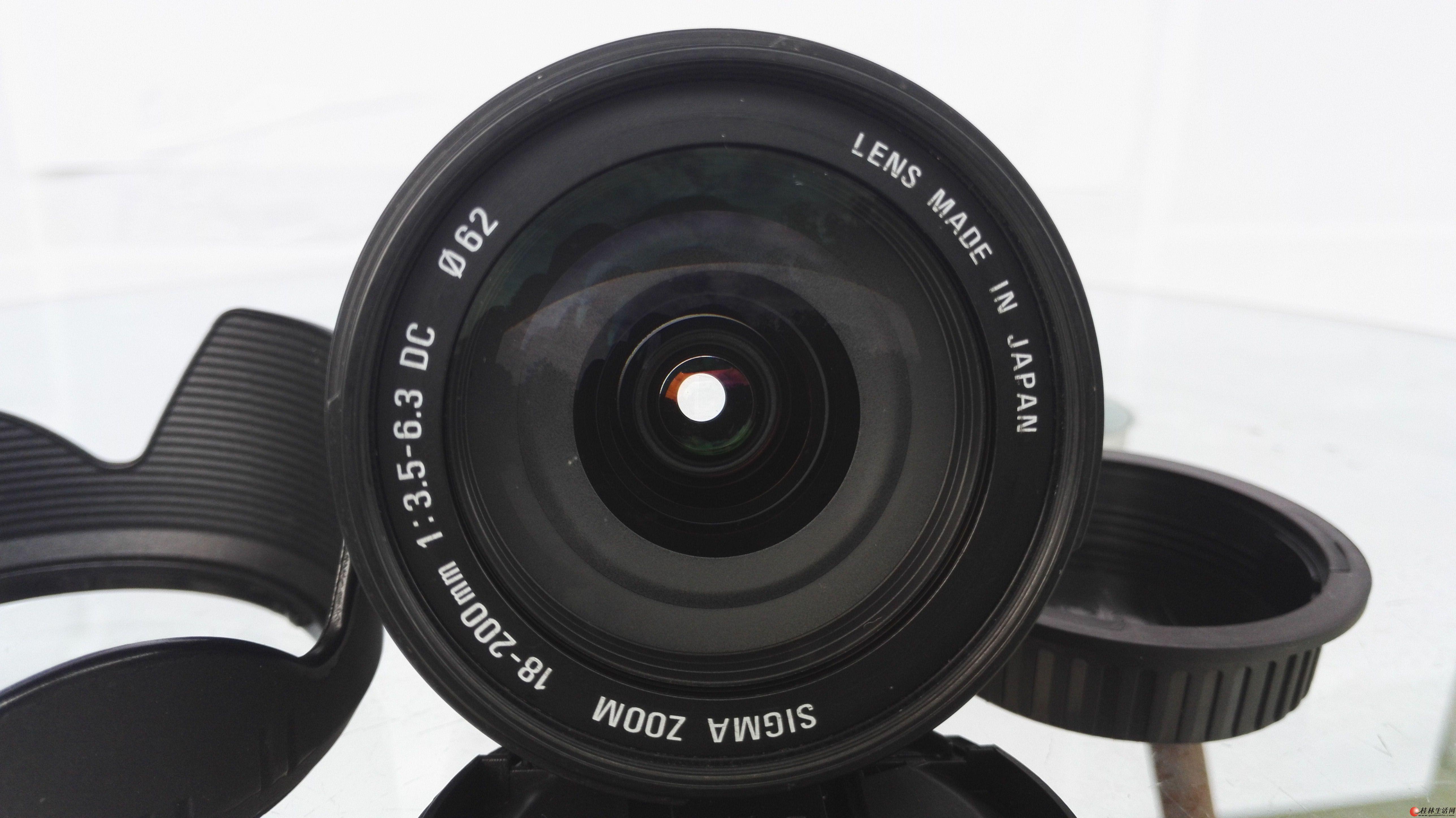 适马18-200mm f/3.5-6.3 DC(佳能卡口)     成色新  780元