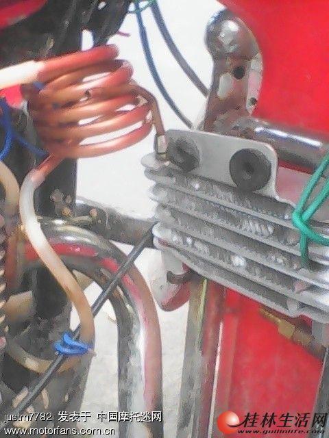 可能是性价比最高的散热方式-排气门汽化水冷,卖排气门散热环形铜管