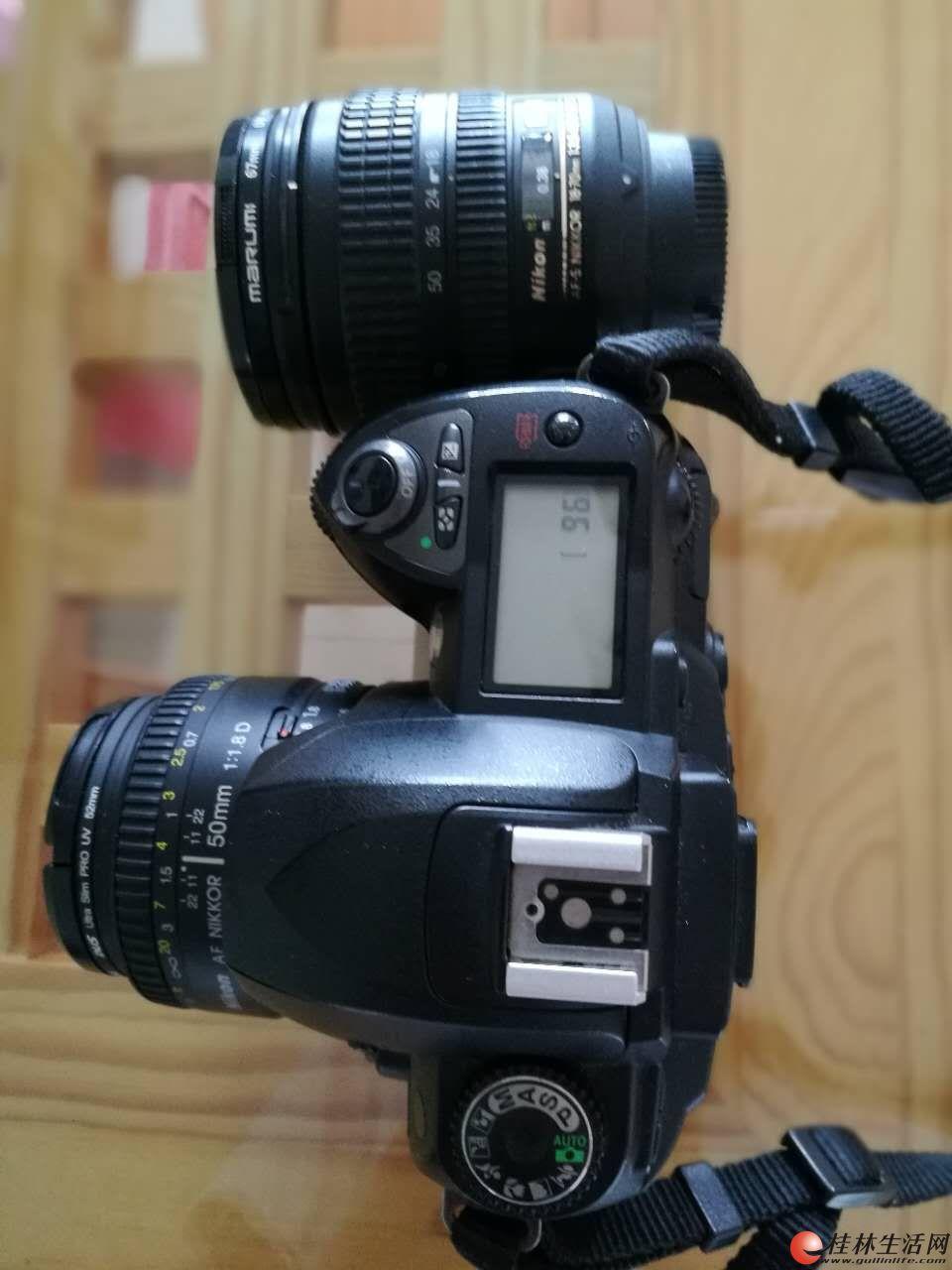 D70S套机+Nikon尼康AF 50mm f/1.8D 501.8D标头小痰盂50/1.8D人像定焦镜头