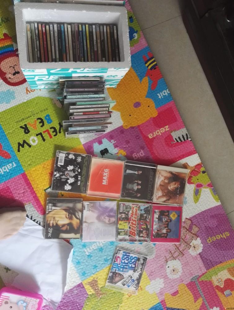 进口原盘cd50张折价转让