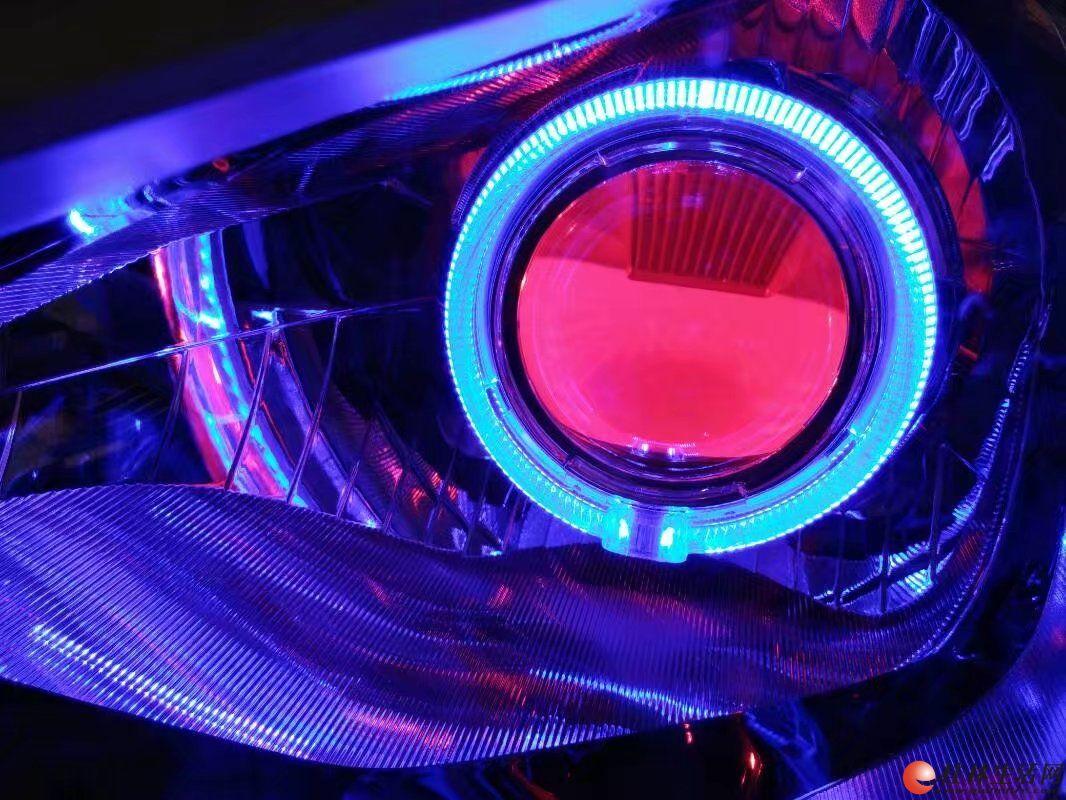 瑞纳升级KH5双光透镜加红恶魔眼