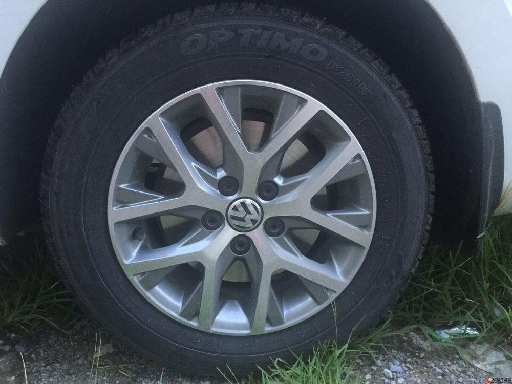 自用的捷达轮毂14寸带轮胎=200/个,不单卖