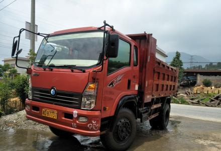 重汽王牌CDW3112A2Q4 130马力4米2车箱