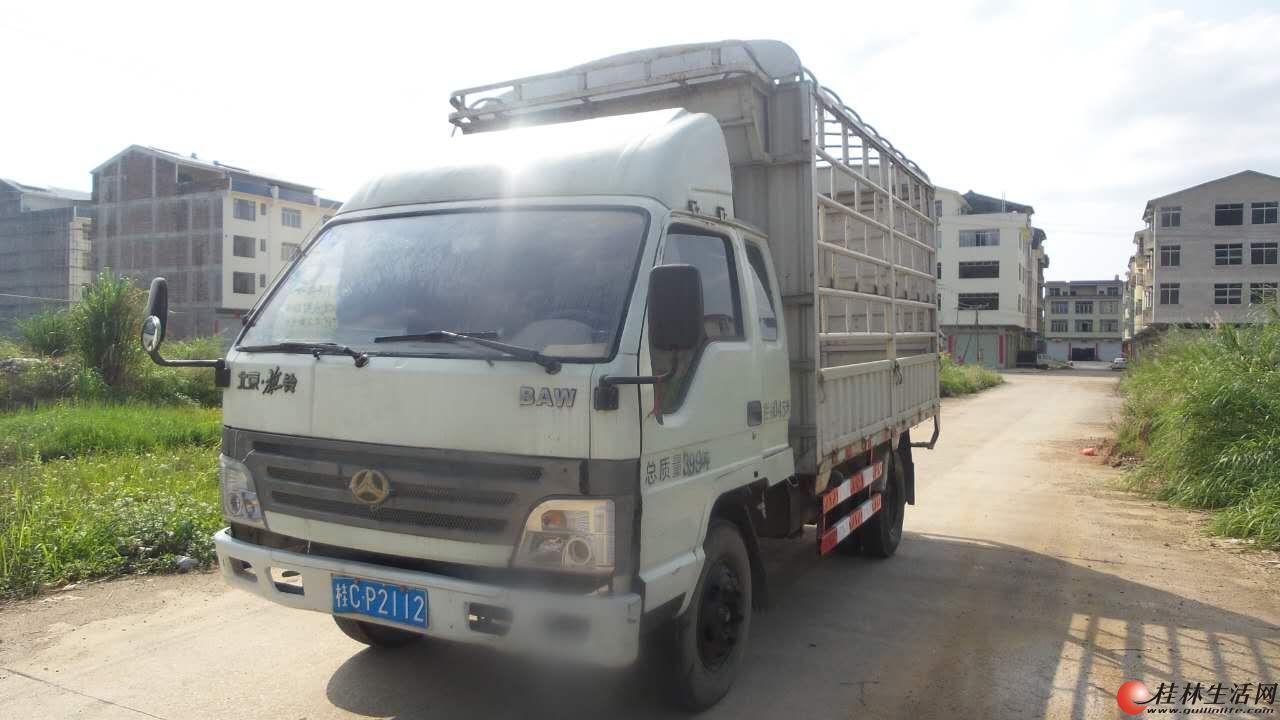 2010年7月4米北京小货车急转让带汽刹液压