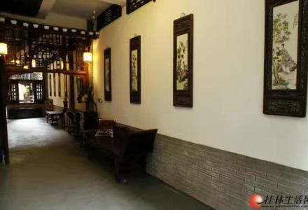 大圩古镇漓江边的客栈一共七间客房,包场1500/晚