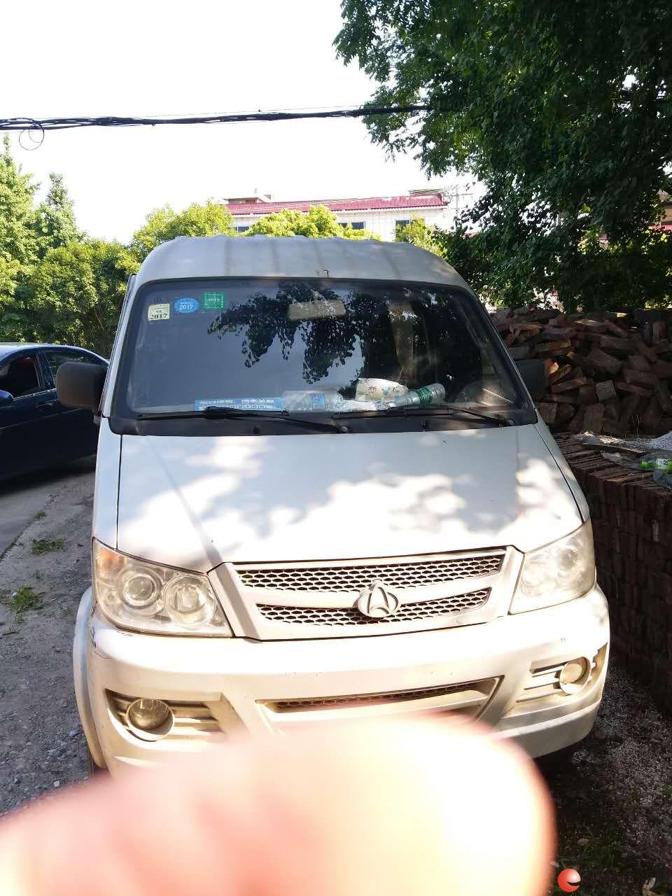 自用长安柴油面包车出售。